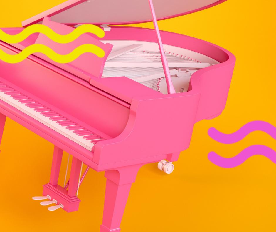 Bobbi On The Piano 1