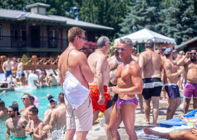 best gay pool parties