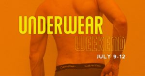 Underwear Weekend at the Dunes Resort promotional flyer