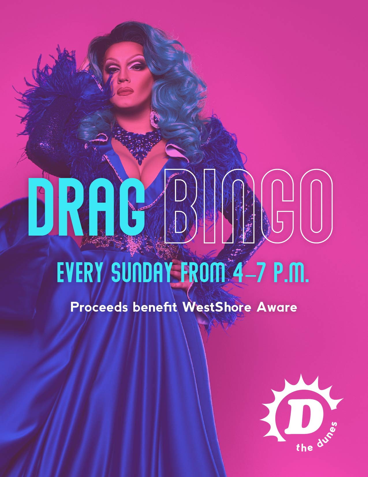 Drag Bingo promo poster for September 2020.