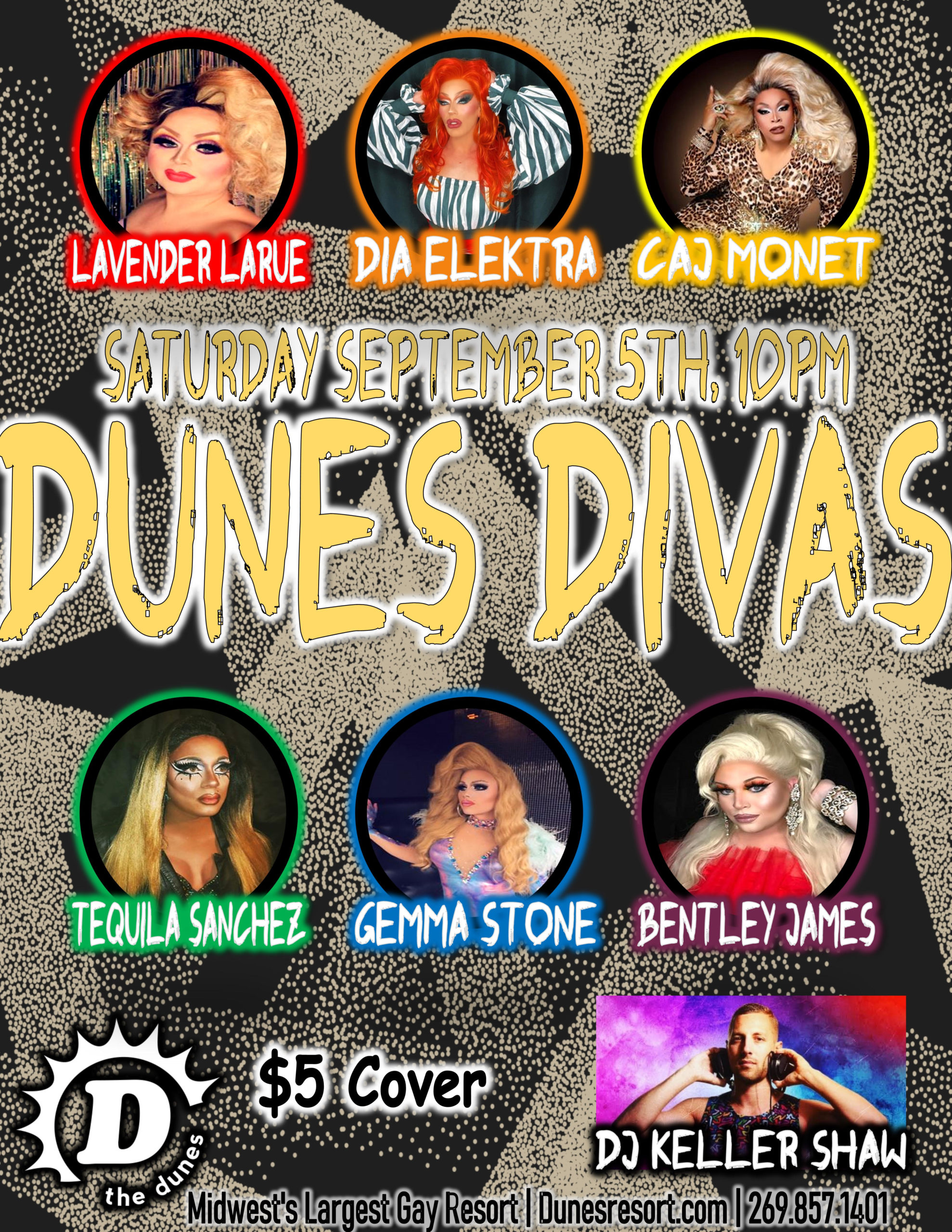 Dunes Divas poster for Sept 5 2020